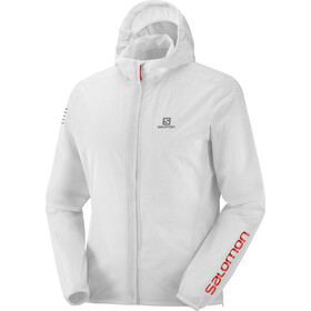 Salomon Bonatti Race Waterproof Jacket Men white